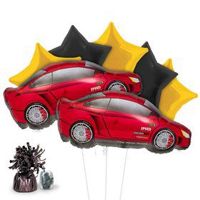 Racing Sports Car Balloon Kit (Each)