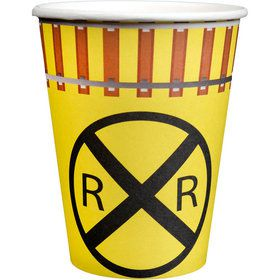 Railroad Party Cups (8)