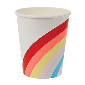 Rainbow 9oz. Paper Cups