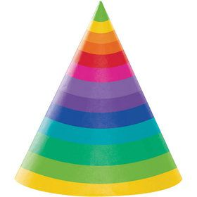 Rainbow Adult Party Hat (8)