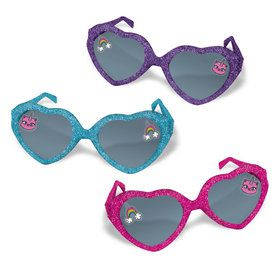 Rainbow Butterfly Unicorn Kitty Glitter Heart Glasses (6)