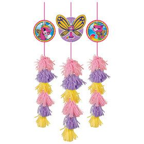 Rainbow Butterfly Unicorn Kitty Hanging Tassel Decorations (3)