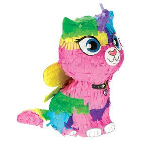 Rainbow Butterfly Unicorn Kitty Mini Decoration (1)