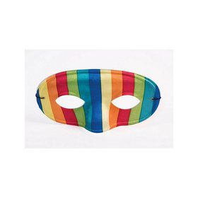 Rainbow Domino Mask