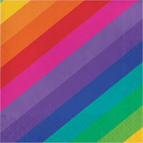 Rainbow Lunch Napkin (16)