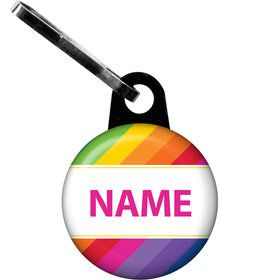 Rainbow Personalized Zipper Pull (Each)