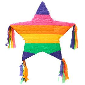 "Rainbow Star 16"" Pinata"