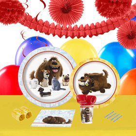 Secret Life Of Pets 16 Guest Tableware Deco Kit