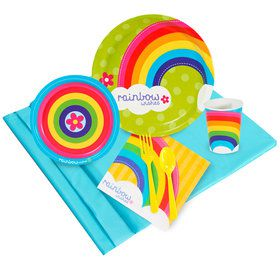Rainbow Wishes 16 Guest Party Pack