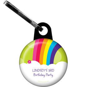 Rainbow Wishes Personalized Zipper Pull (Each)