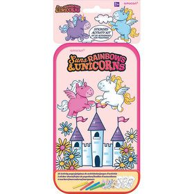 Rainbows & Unicorns Sticker Activity Box