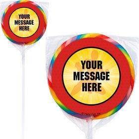 Ranger Heroes Personalized Lollipops (12 Pack)