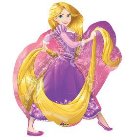 "Rapunzel Tangled 30"" Foil Balloon (Each)"