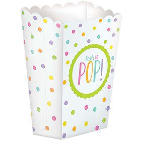 Ready to Pop Baby Shower Favor Popcorn Boxes (20 Count)