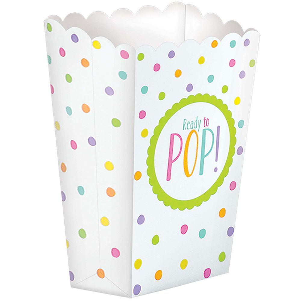 Ready To Pop Baby Shower Favor Popcorn Boxes General Shower