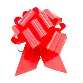 "Red 8"" Pull Bow (10 Count)"