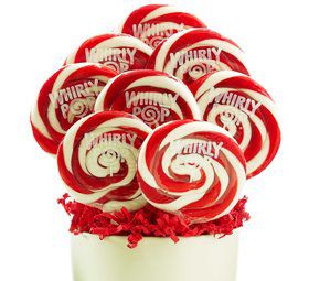 Red and White Candy Lollipop (Each)