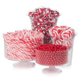 Red Candy Buffet Decorating Kit (Each)