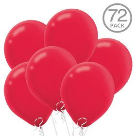 Red Latex Balloons (72 Count)