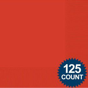 Red Luncheon Napkins, 125 ct.