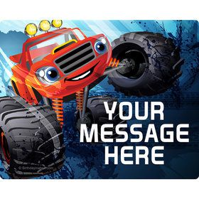 Red Monster Truck Personalized Address Labels (Sheet of 15)