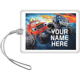Red Monster Truck Personalized Bag Tag (Each)
