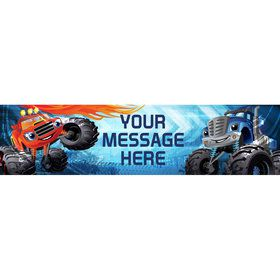 Red Monster Truck Personalized Banner (Each)