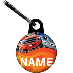Red Monster Truck Personalized Zipper Pull (Each)