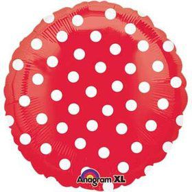 Red Polka Dot Balloon (each)