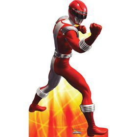 Red Power Ranger Cardboard Standup