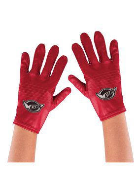 Red Ranger Beast Morpher Child Gloves