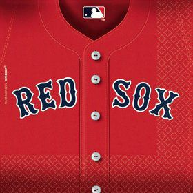 Red Sox Luncheon Napkins (36 Pack)