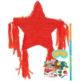Red Star Pinata Kit