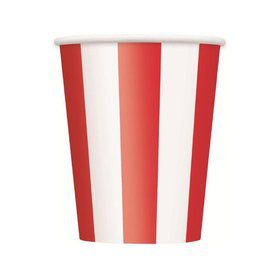 Red Stripe 12oz Cups (6 Pack)