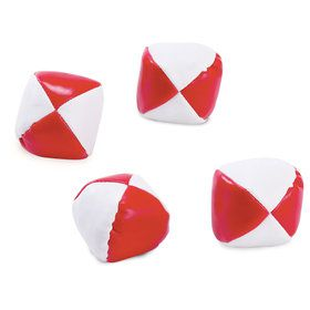 Red White Toss Balls (12)