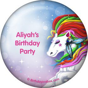 Regal Pony Personalized Button (Each)