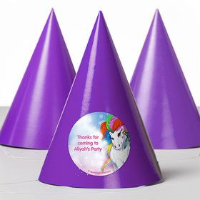 Regal Pony Personalized Party Hats (8 Count)