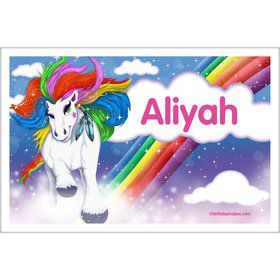 Regal Pony Personalized Placemat (Each)