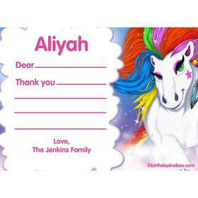Regal Pony Personalized Thank You (Each)