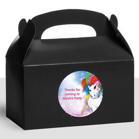 Regal Pony Personalized Treat Favor Boxes (12 Count)