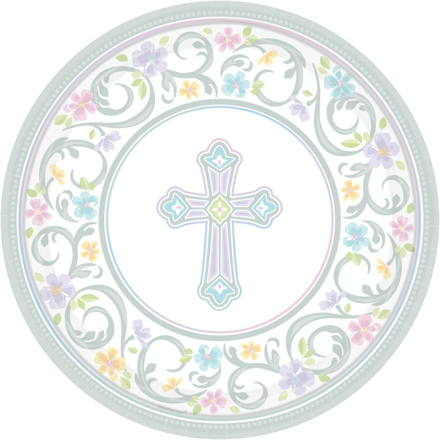 "Religious Party Supplies 10"" Luncheon Plates (18 Pack) BB729420"