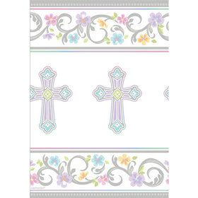 Religious Party Paper Table Cover (Each)