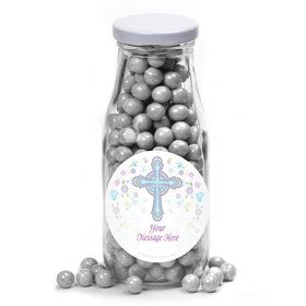 Religious Party Personalized Glass Milk Bottles (12 Count)