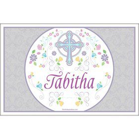 Religious Party Personalized Placemat (Each)