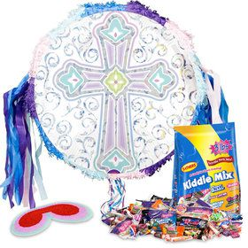 Religious Party Pull String Pinata Kit