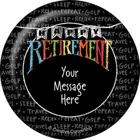 Retirement Personalized Magnet (Each)