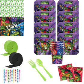 Rise of the TMNT Deluxe Tableware Kit (Serves 8)