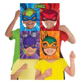 Rise of the TMNT Photo Frame Props