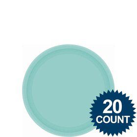 "Robins Egg Blue 7"" Paper Cake Plates (20 Pack)"