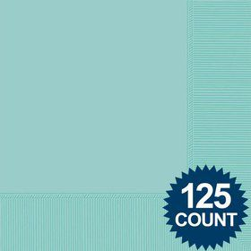 Robins Egg Blue Luncheon Napkins (125 Pack)